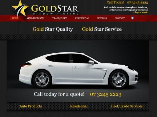 Gold Star Window Tinting