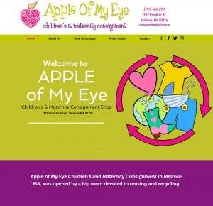 Apple of my eye web by adchix