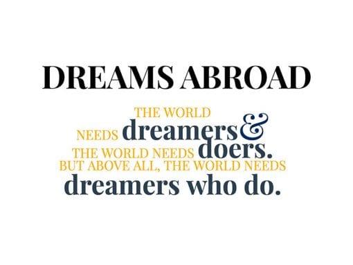 Dreams Abroad Website