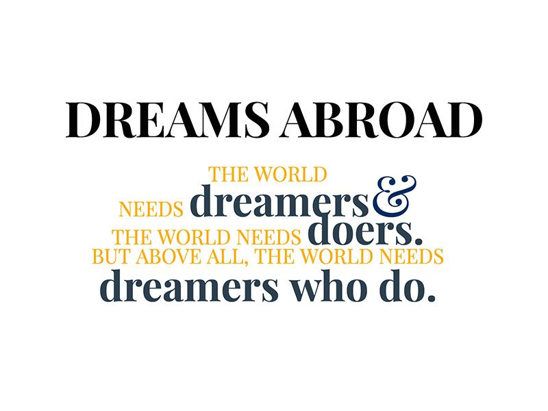 Dreams Abroad Website