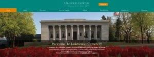lakewood cemetery website