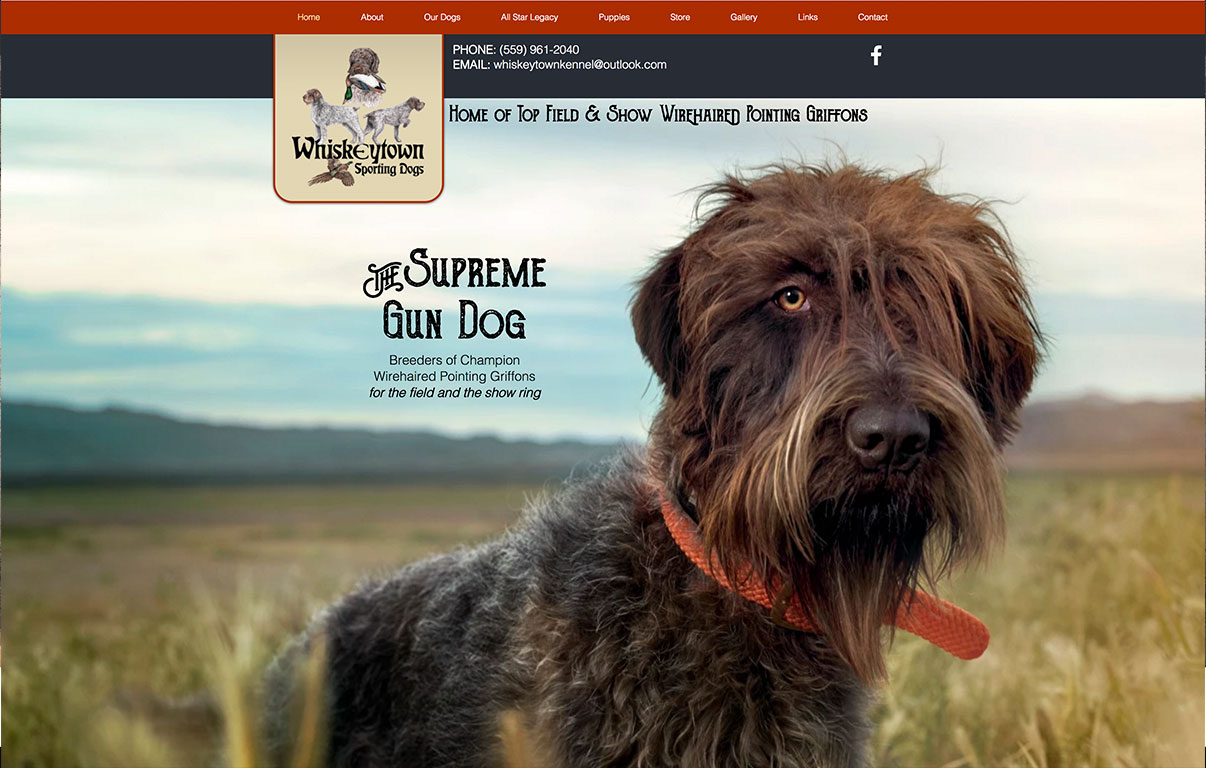 Dog Breeder Website Design by Adchix