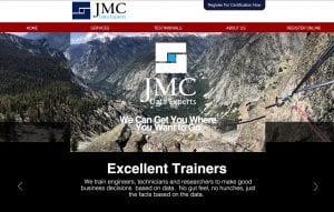 JMC DATA Experts website by adchix