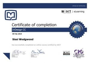 Adchix is certified in Adobe InDesign