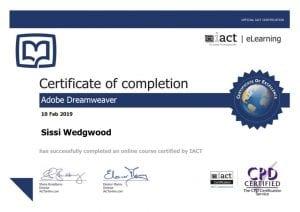 Adchix is certified in Adobe Dreamweaver
