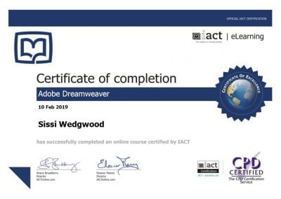 Adchix is certified in Adobe Dreamweaver