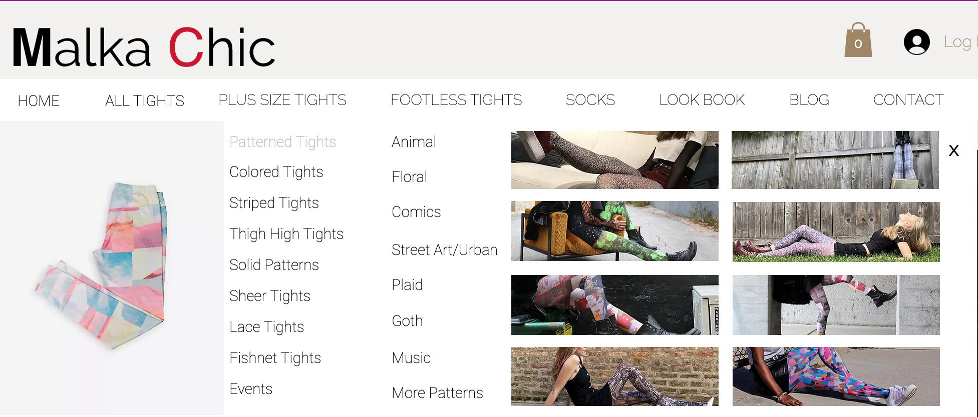 Malka Chic Website by Adchix
