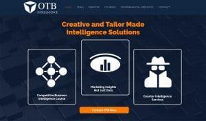 otb intelligence Market research agency website